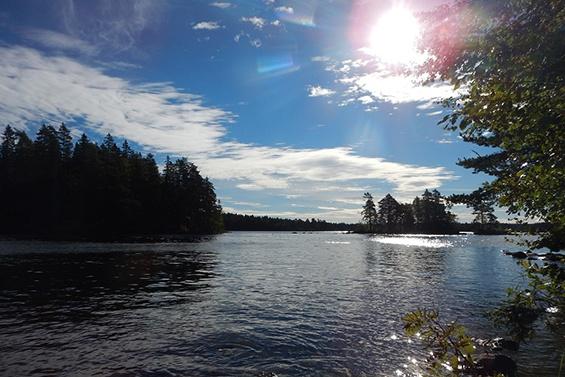 Aktivurlaub am See in Mittelschweden mit Kanu und Rad - bei Fjordkind-Reisen anfragen