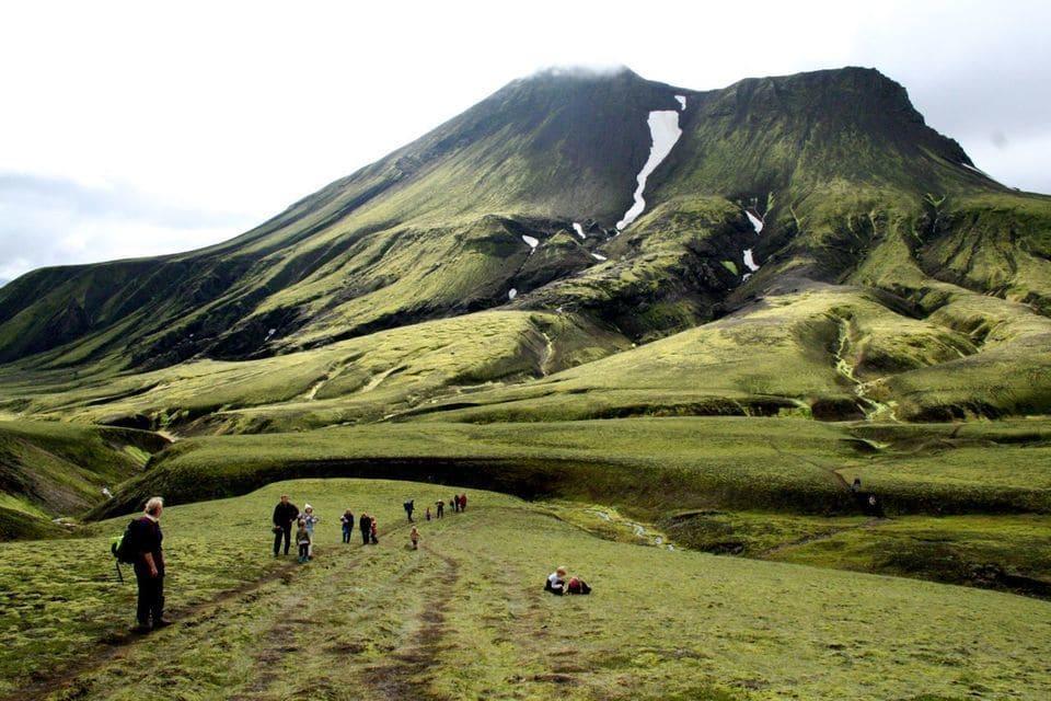 Auf geführter Wanderreise in Island