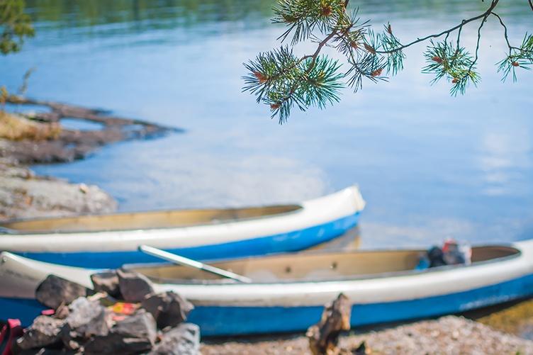 Kanu Finnland
