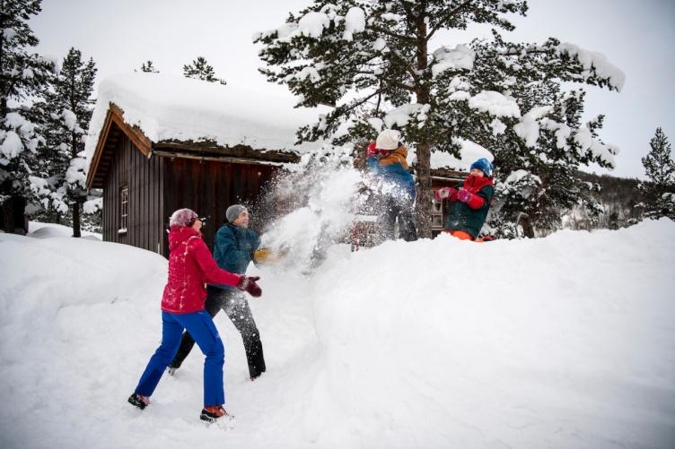 Familienurlaub Skihütte Norwegen - bei Fjordkind-Reisen buchen