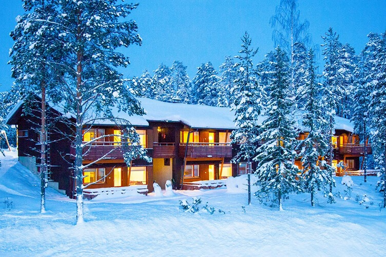 Apartments in Vuokatti. Winterurlaub in Vuokatti in Finnland