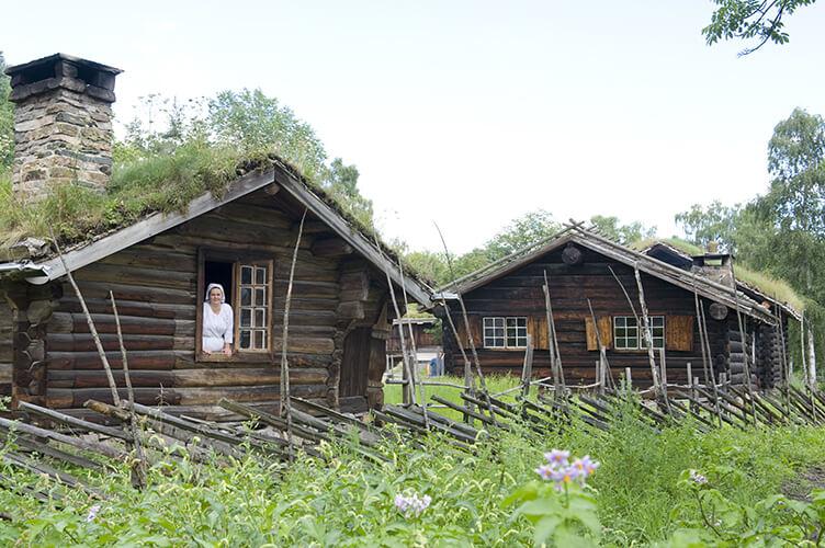 Südnorwegen entdecken - Rundreise mit eigenem Auto und Übernachtung in Ferienhäusern Foto: Anne-Lise Reinsfelt/Norsk Folkemuseum/visitnorway.com