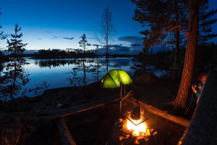 Schweden Kanutour mit Familie - Paddeltour mit Kind