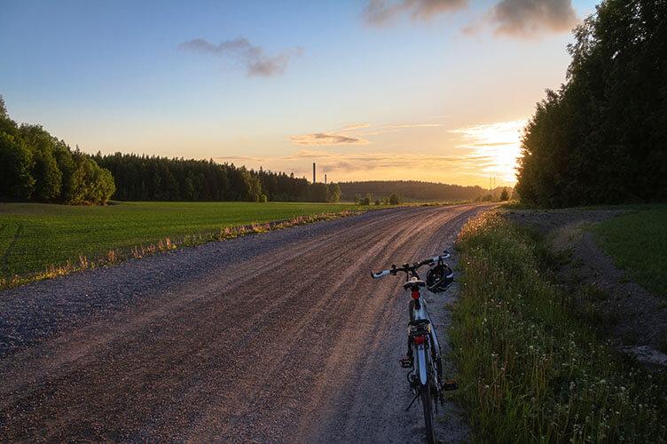 Mit Fahrrad und Fähren durch den finnischen Schärengarten