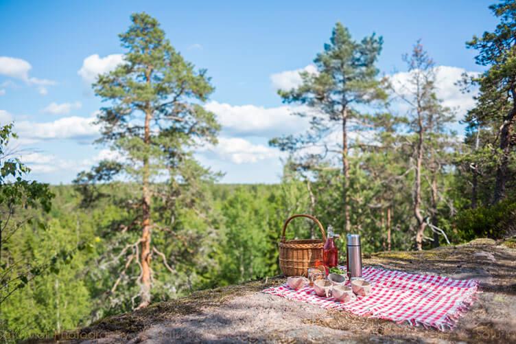 Ferienhaus bei Helsinki am Nationalpark Nuuksio