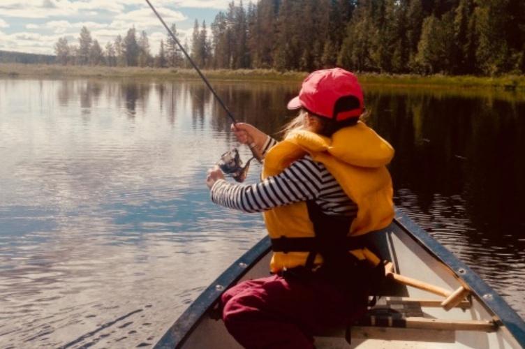 Aktiver Familienurlaub in Schwedisch-Lappland
