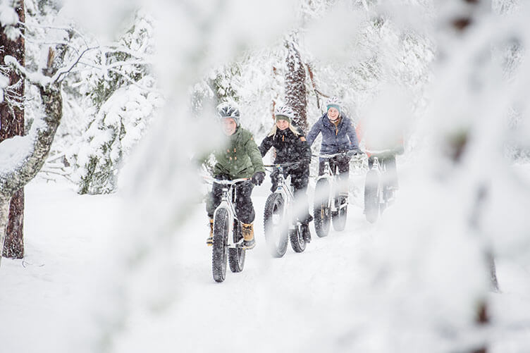 Schnee pur! Aktive Winterwoche