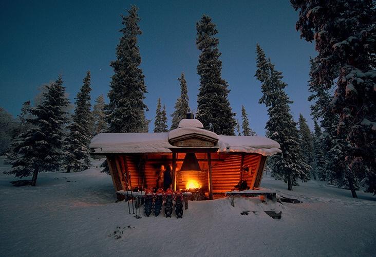 Authentisches Lappland: Winterwunderland am Nationalpark