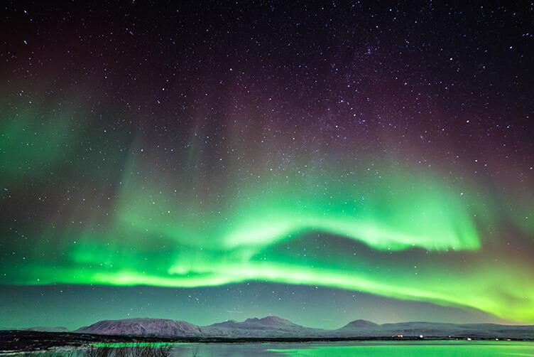 Nordlichter im Schweden-Urlaub