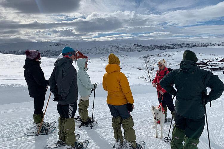 Schnee- und Skispaß in Norwegen