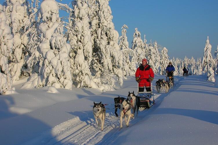 Winterurlaub im Familienhotel in Iso-Syöte