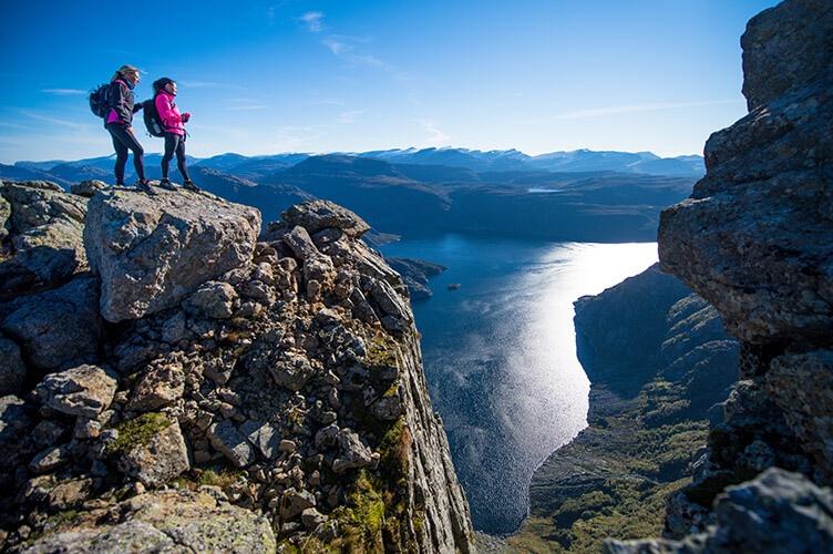 Selbstfahrertour durch Fjordnorwegen