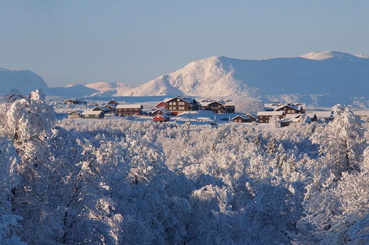 Winterurlaub in den südnorwegischen Bergen