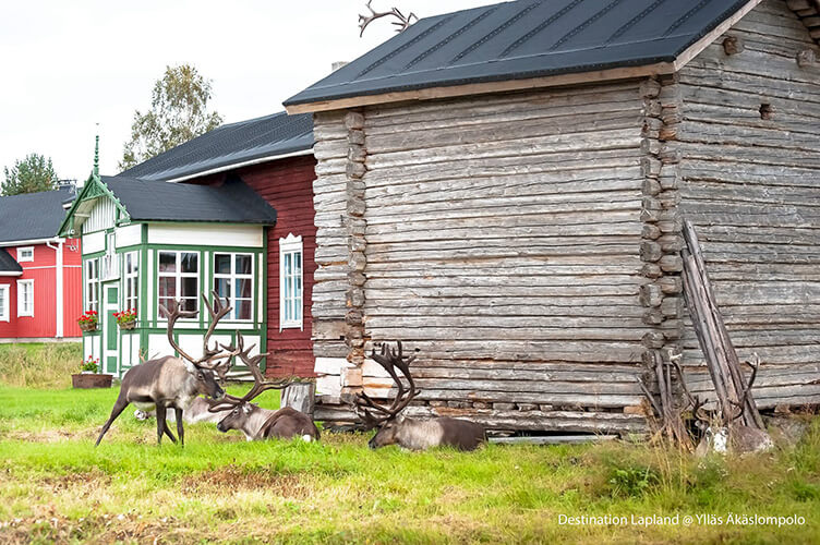 Ferienhausurlaub in Finnisch-Lappland