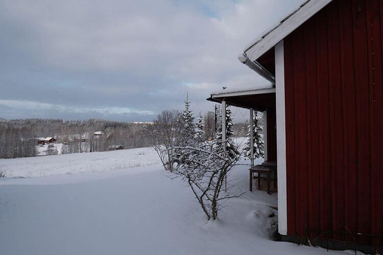 Winterurlaub für die Familie in Mittelschweden