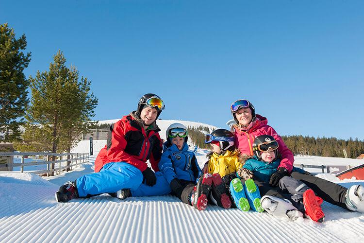 Skiurlaub in Schweden mit Kindern