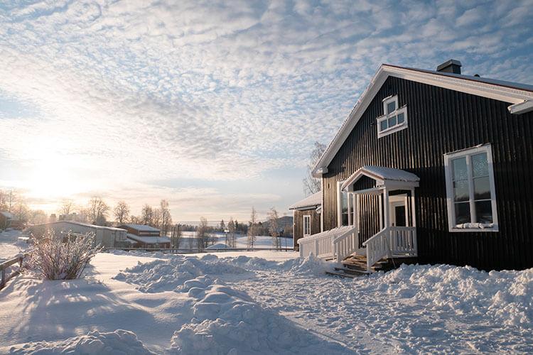 Gemütliche Winterreise für die ganze Familie nach Schweden