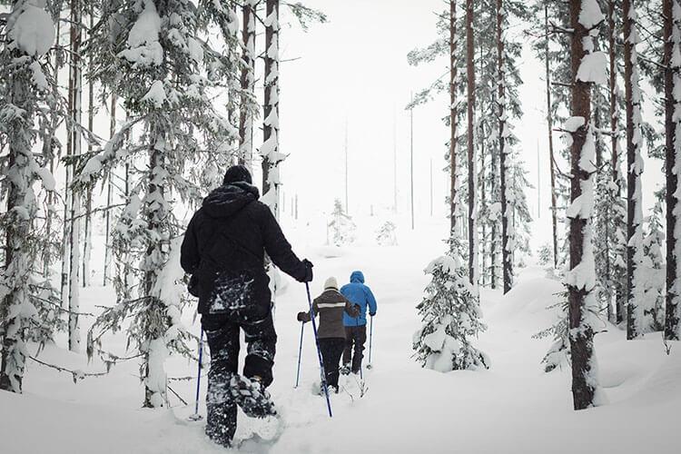 Gemütliche Winterreise für die ganze Familie nach Mittelschweden