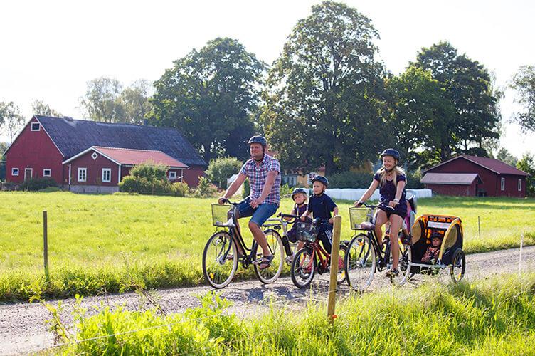 Familienradreise durch Skåne