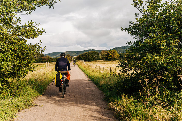 Familienradreise Kattegattleden Westküste Schweden Radler