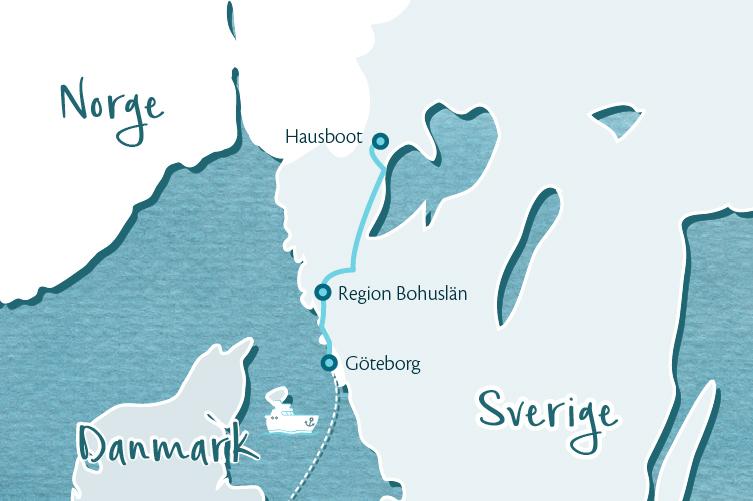 Selbstfahrertour in Westschweden