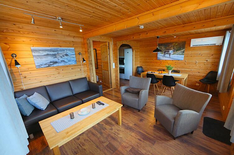 Wohnen in der Fischerhütte